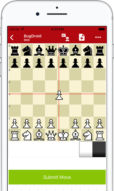 Playing iPhone Chess