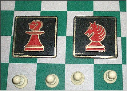Chess Coasters
